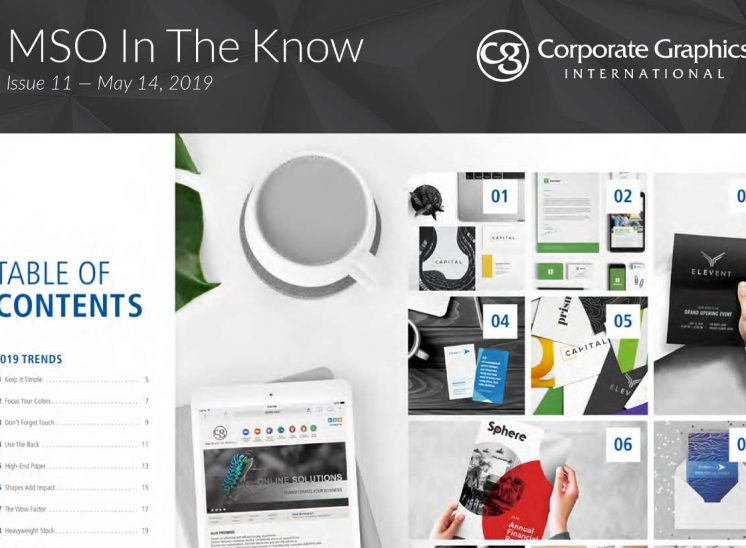 MSS In The Know ― Corporate Graphics International